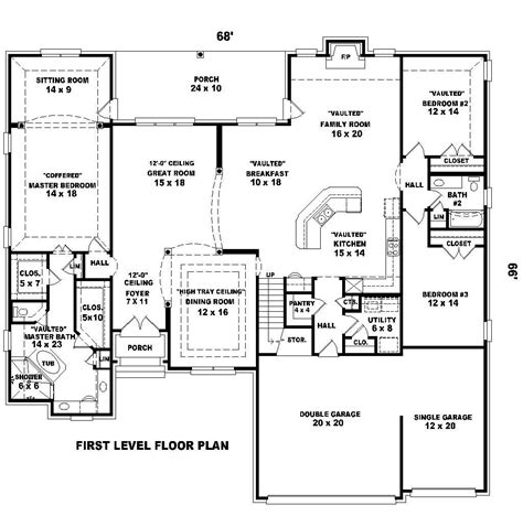 2300 Sq Ft House Plans 2300 Square Foot House Plans Home Design And Style
