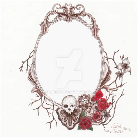 antique tattoos vintage frame design www pixshark images