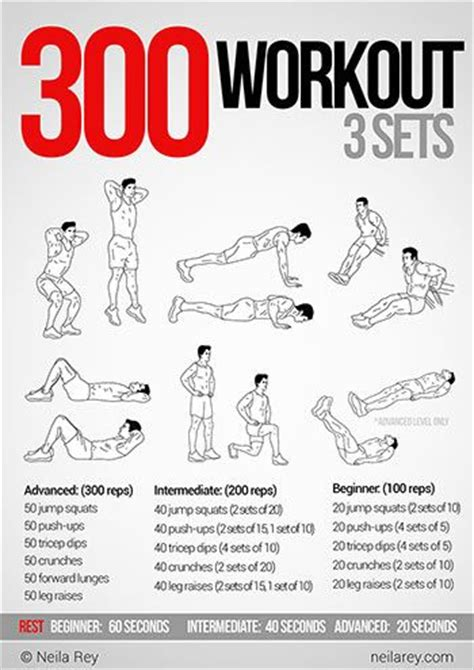 25 best ideas about spartan 300 workout on