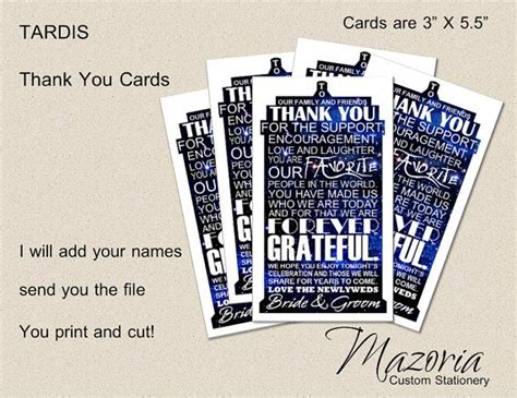 printable thank you cards for doctors 17 best images about doctor who wedding on pinterest dr