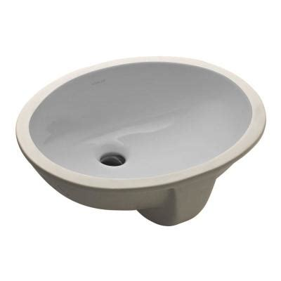 gray bathroom sink kohler caxton vitreous china undermount bathroom sink in
