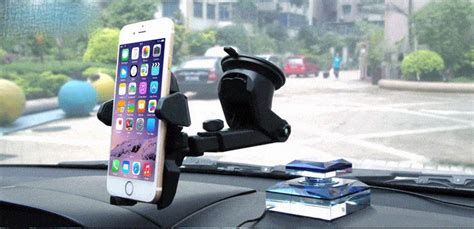 Car Holder Kaca I24001 car holder for smartphone with suction cup black