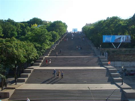 famous stairs walking sightseeing tour in odessa