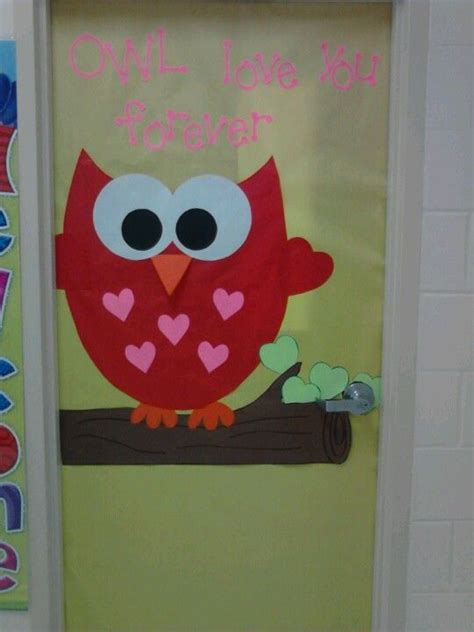 door decorations for valentines made this valentines day door for my daughters classroom
