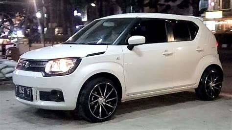 Ban Forceum Vi modifikasi new suzuki ignis use vossen cvt wheel