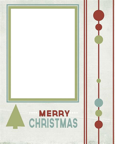 merry card template 41 free card templates for photo cards