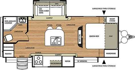 salem travel trailers floor plans hemisphere travel trailer by forest river