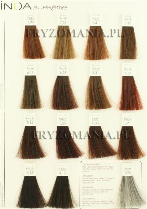 loreal inoa supreme colour chart inoa supreme age defying color chart brown hairs