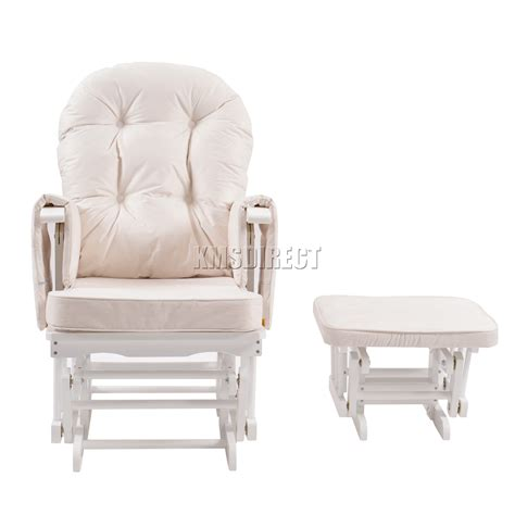 Maternity Rocking Chair And Stool by Foxhunter Nursing Glider Maternity Rocking Chair With