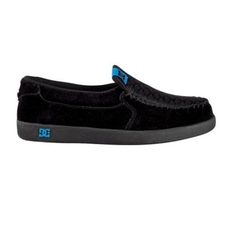dc loafers black black and blue dc loafers toms loafers moccasins