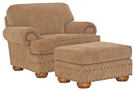 Broyhill Upholstery Fabric by Broyhill Evan Chair And Ottoman Set 013954 0q