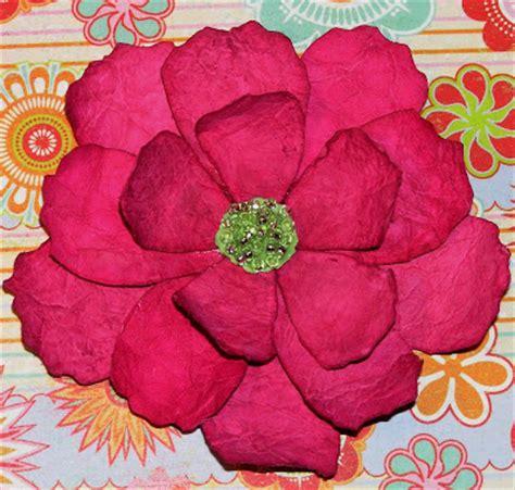 Handmade Paper Flowers Tutorial - mel stz handmade paper blooms tutorial