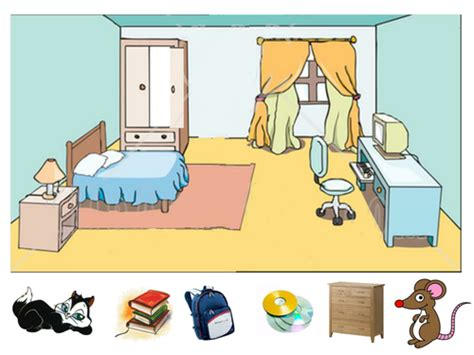 the bedroom place lesson how to describe what i in my