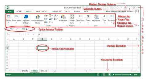 Components Of A Spreadsheet by Understanding Excel Spreadsheets Winstudent
