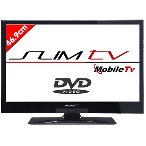 Tv Led Mobil tele mobil tv hd dvd led 46 9 cm speciale cing car