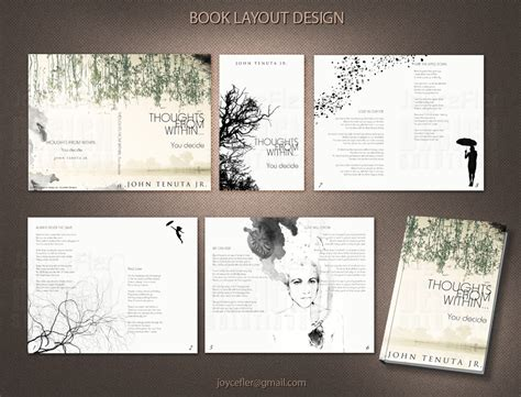 html layout book book magazine layout and format joycefler designs