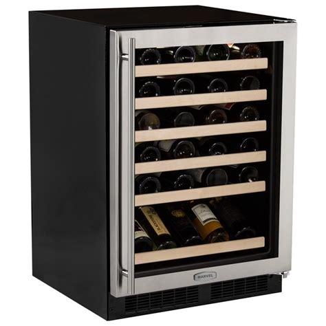 under cabinet wine cooler marvel 45 bottle under counter wine cooler pcrichard