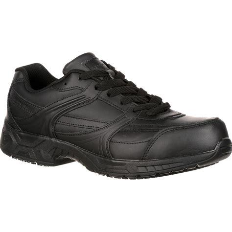 athletic work shoes genuine grip unisex steel toe athletic work shoe gg1011