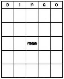 Blank Bingo Template by 49 Printable Bingo Card Templates Tip Junkie