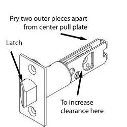 andresen door lock does not work lock how do i fix an exterior door knob that will unlock