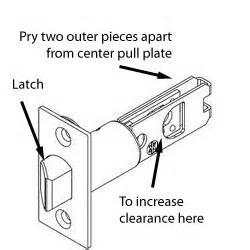 lock how do i fix an exterior door knob that will unlock