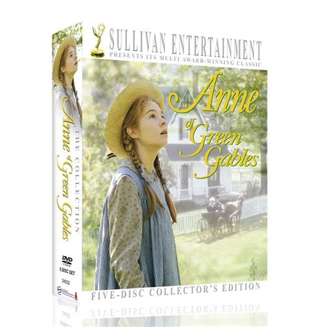 anne of green gables 20th anniversary collectors edition anne of green gables 20th anniversary three part