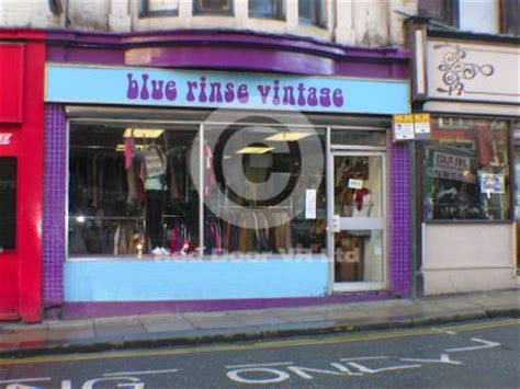 blue rinse vintage leeds clothes shop shopping in city