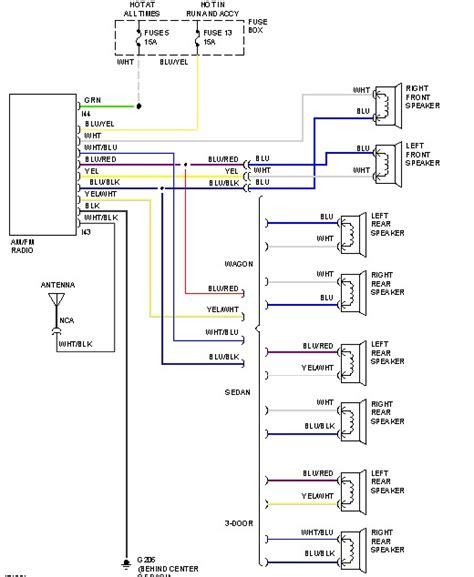 subaru color code wiring diagram wiring diagram with
