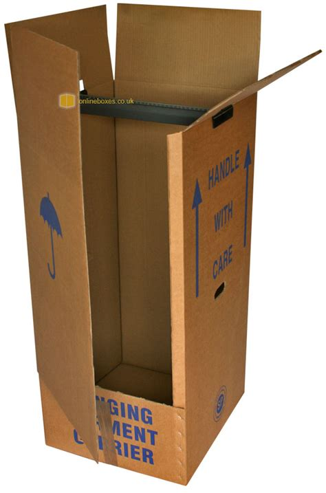 Wardrobe Storage Box by Wardrobe Boxes Cardboard Removal Wardrobes For Moving House Storage Uk