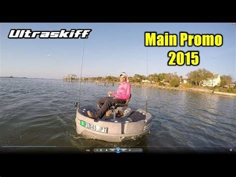 round boat youtube kayak fishing alternative the ultraskiff 360 watercraft