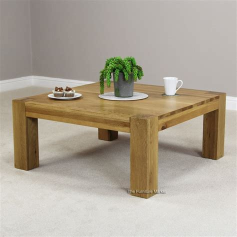 chunky square coffee table chunky oak furniture archives the furniture market