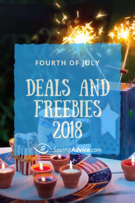 here are the best july 4th deals and freebies saving