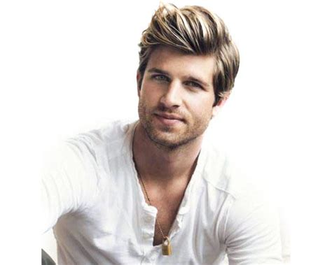 guys brown hair with blonde highluggts girls what do you think of a blonde guy with brown