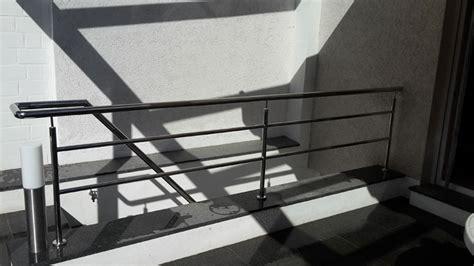 Treppe Handlauf Aussenbereich by Metallbau Edelstahl Krause