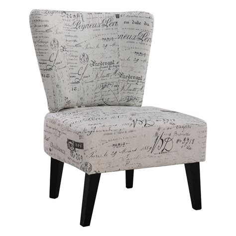 Armless Living Room Chairs by Armless Accent Chair Upholstered Seat Dining Chair Living