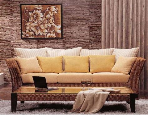 rattan living room furniture contemporary living room designs home designs project