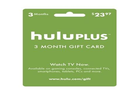 Hulu 1 Year Gift Card - win this free giveaway three month hulu plus gift card divagalsdaily