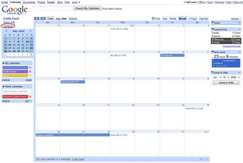Calendar Googlecom Calendar Gadgets Appearing