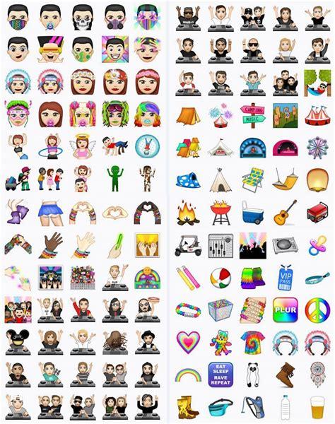 appmoji  launches   edm emojis