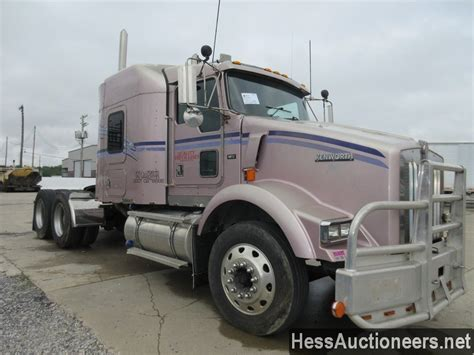Kenworth Sleeper For Sale by Used 2000 Kenworth T800 Tandem Axle Sleeper For Sale In Pa
