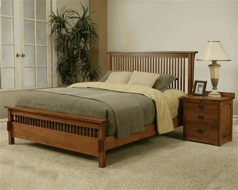 mission bedroom sets usa made mission style king bed mission rift quarter sawn oak bedroom set ebay