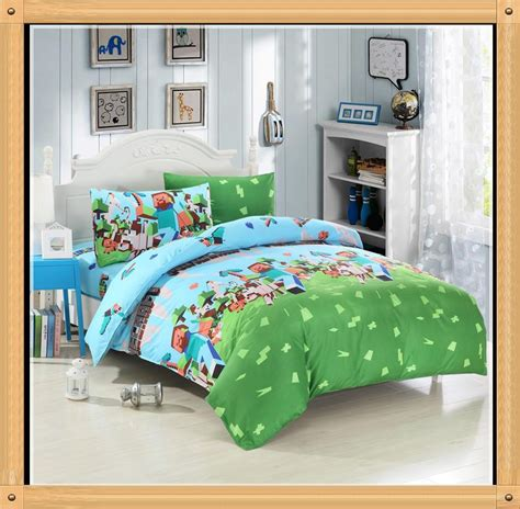 minecraft twin bedding see larger image