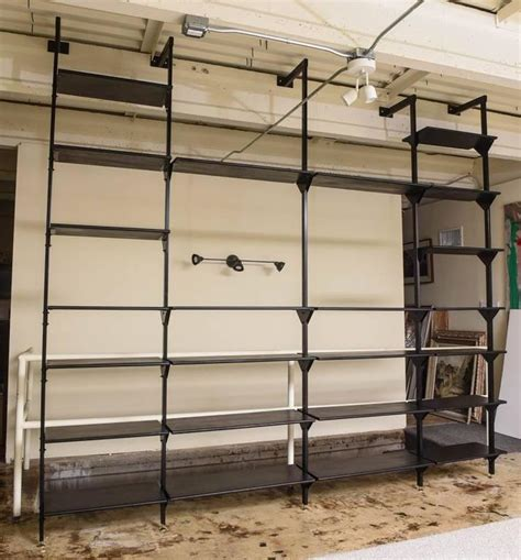 Wall Mounted Shelf Systems by Italian Wall Mounted Library Or Shelving System At