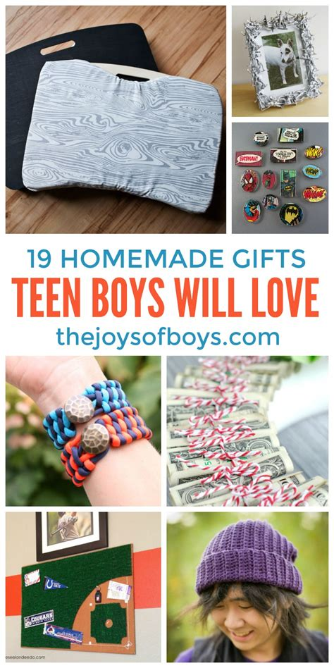 Handmade Gifts For Teenagers - diy gifts boys will gifts for boys