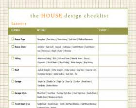home design checklist building a house checklist home design renovation improvement checklist 14 page