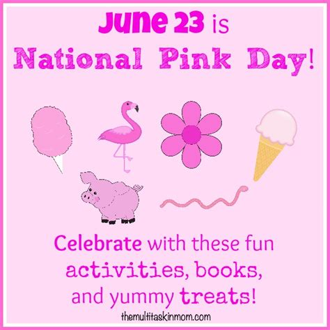 A Day With Pink by Celebrate National Pink Day With All Things Pink