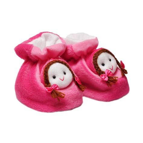 Sepatu Bayi Prewalker Happy Baby Perekat Bunga Pink Ssb433 S D 435 jual happy baby shoes berbulu noni sepatu anak pink harga kualitas terjamin