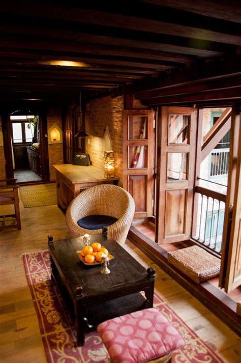 bright view   room patan nepal interior