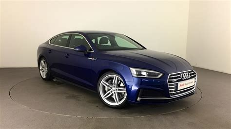 Audi A5 Ps by Approved Used Audi A5 Sportback S Line 2 0 Tfsi Quattro