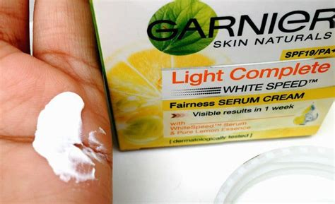 Garnier Light Complete Serum Spf 19 garnier skin naturals light complete fairness serum spf 19 review